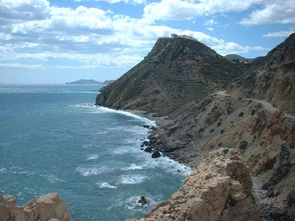 Spectacular coastline between Mojacar and Carboneras