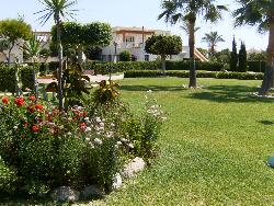 View in grounds towards 3 bedroom duplex for sale in Vera Playa naturist zone